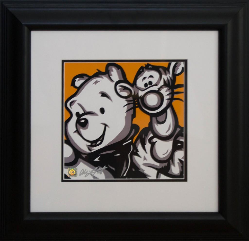 Art for Sale - Allison Lefcort - Pooh & Tigger Winnie the Pooh