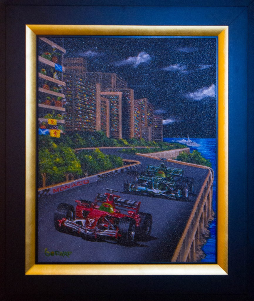 Art for Sale - Michael Godard - Monaco Grand Prix