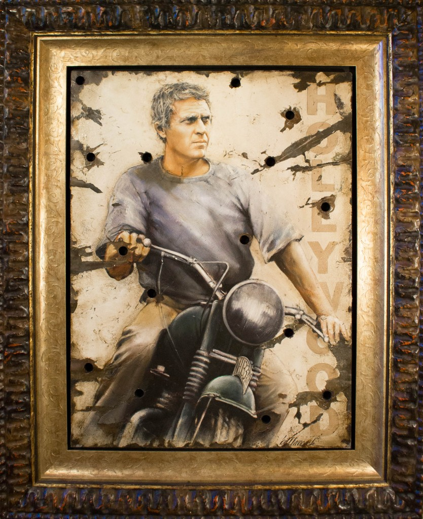 Art for Sale - Bill Mack - Steve McQueen Escape
