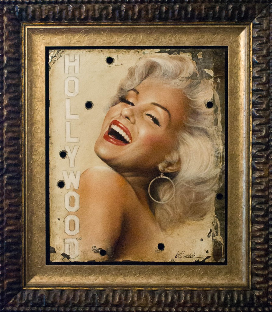 Art for Sale - Bill Mack - Magical Legend - Marilyn Monroe - Hollywood Sign