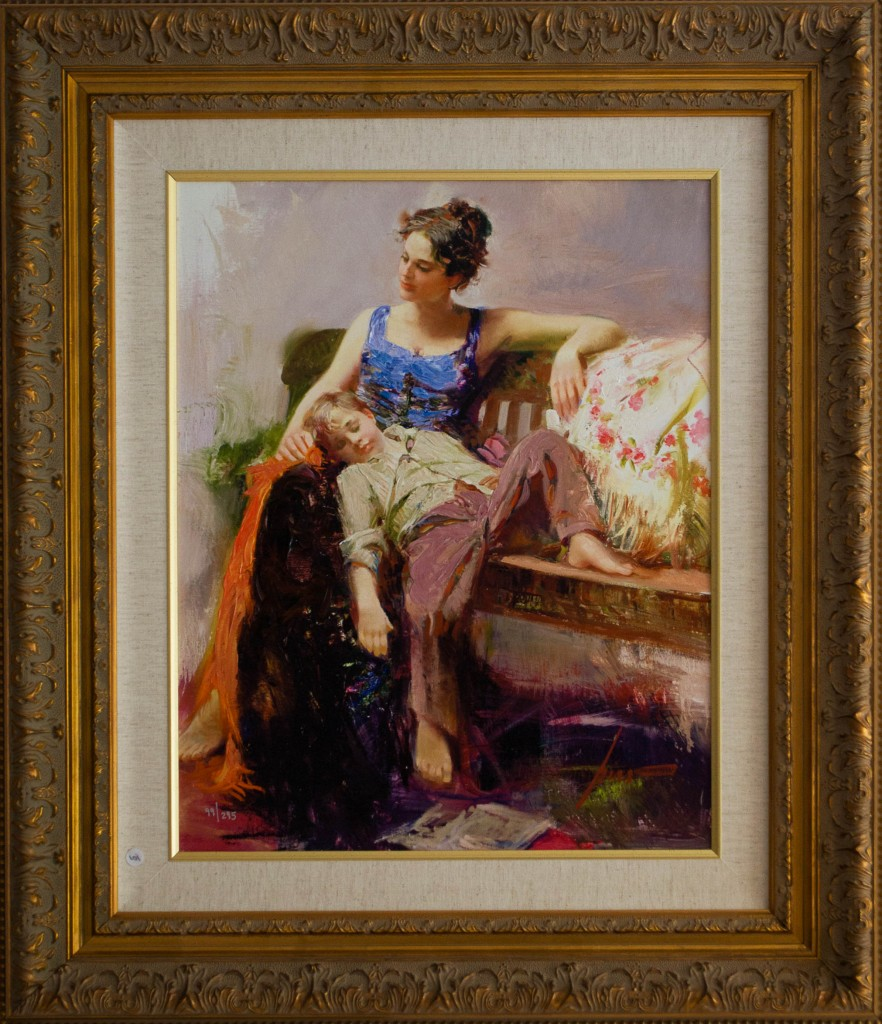 Art for Sale - Pino Daeni - Afternoon Nap