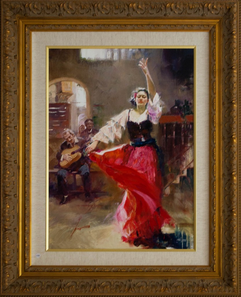 Art for Sale - Pino Daeni - The Main Attraction