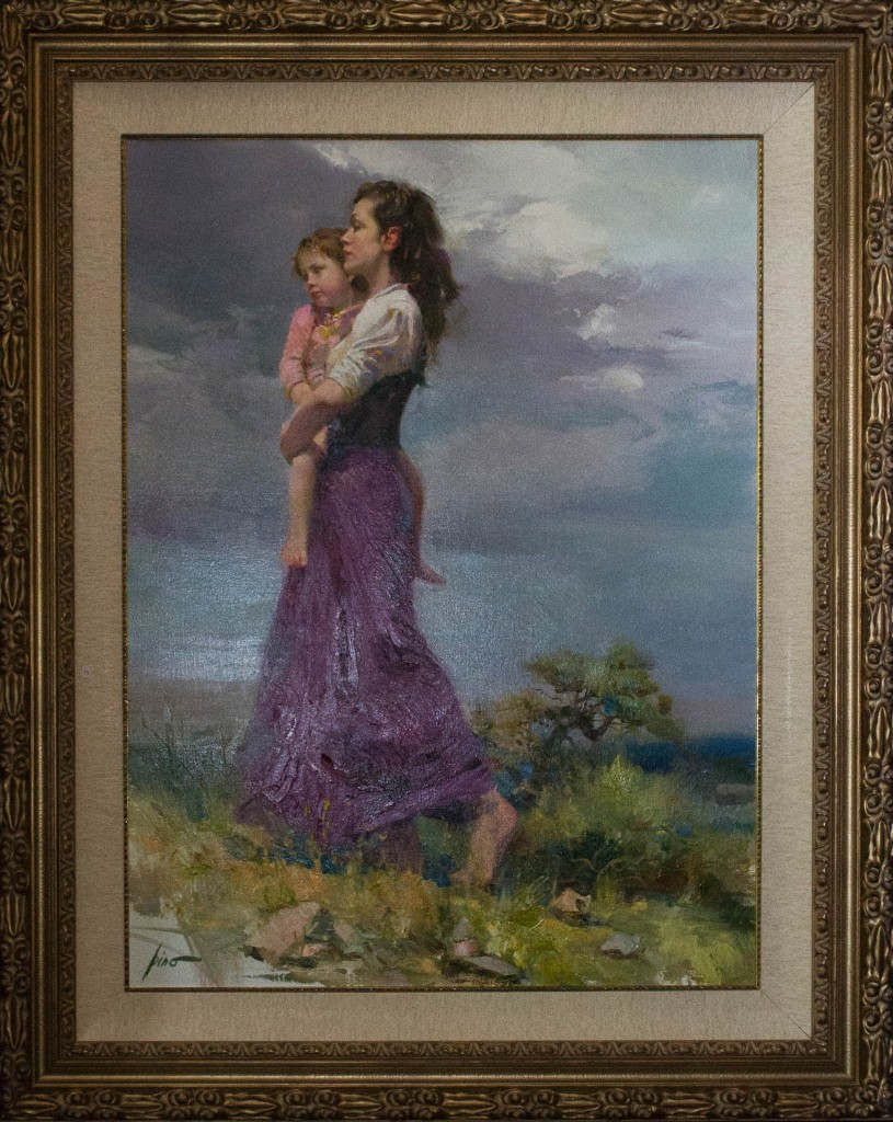 Art for Sale - Pino Daeni - A Long Way Home