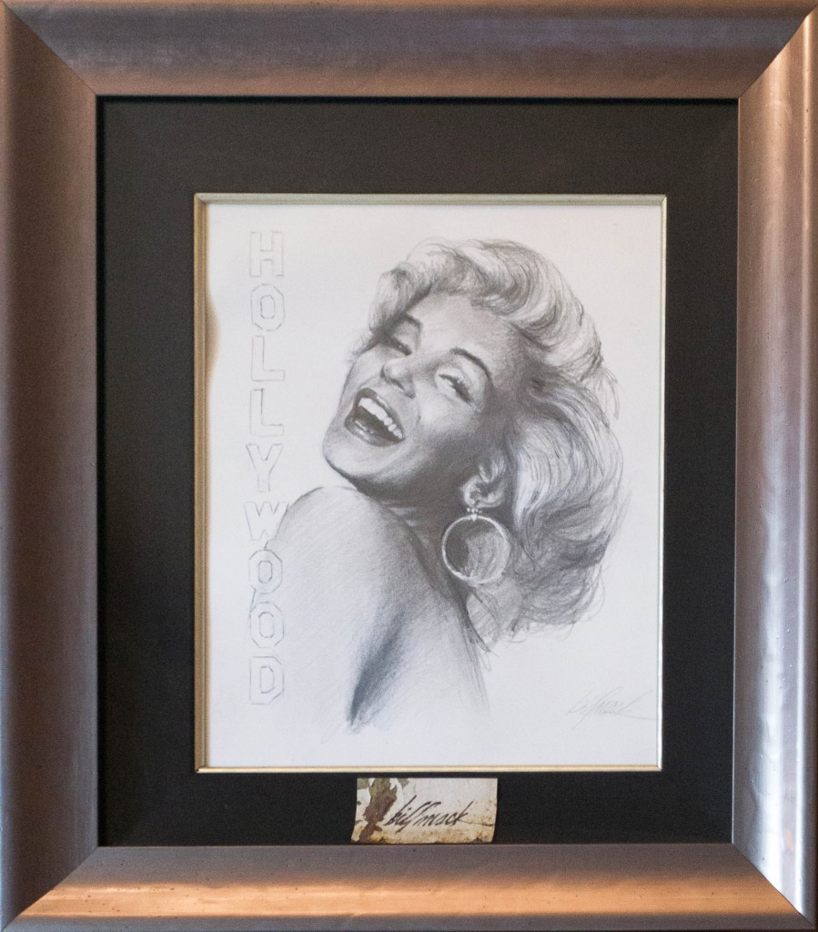 Art for Sale - Bill Mack - Magical Legend - Marilyn