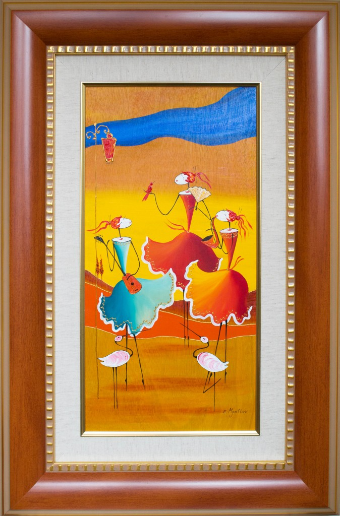 Art for Sale - Esther Myatlov - Ladies' Concert