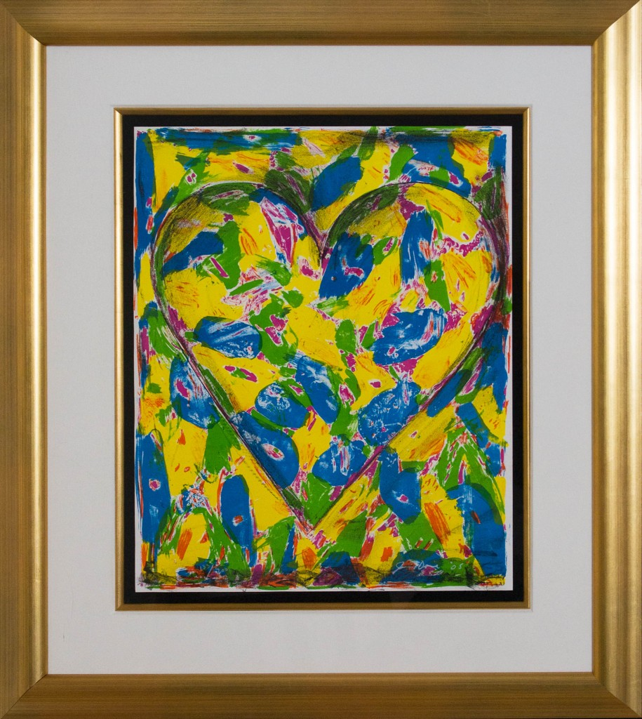 Art for Sale - Jim Dine - The Blue Heart